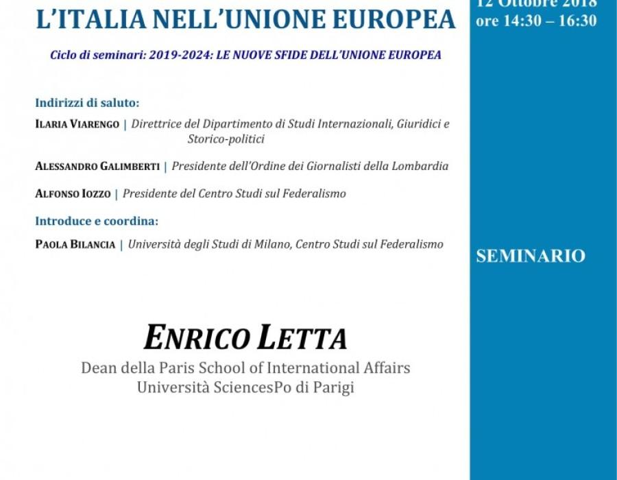 L'Italia nell'Unione europea